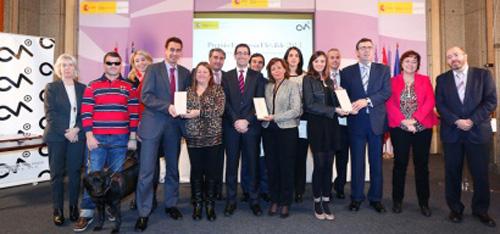 Los Premios Empresa Flexible fueron concedidos ayer en Madrid.