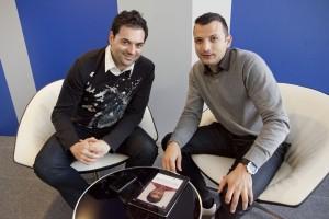 Edgar Bresó y Francisco Ramos, fundadores de Emotional Apps.