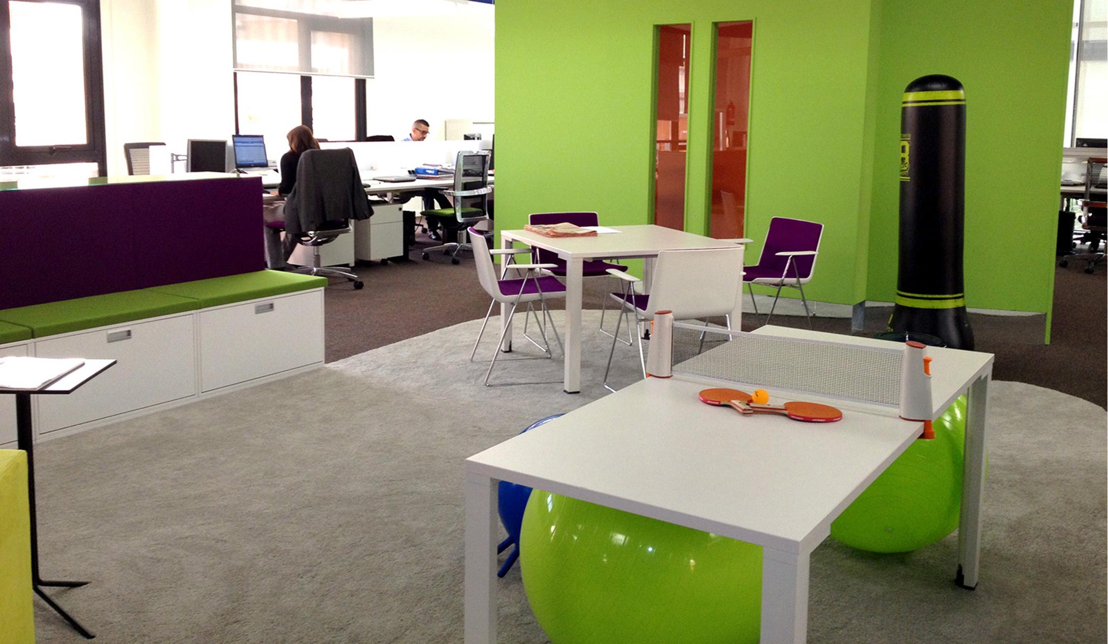 El trabajo flexible est revolucionando el dise o de las for Oficinas citibank madrid