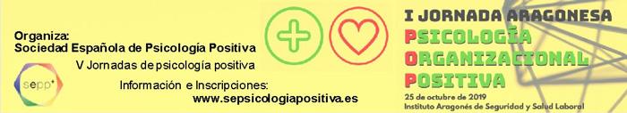 I Jornada Aragonesa de Psicología Positiva