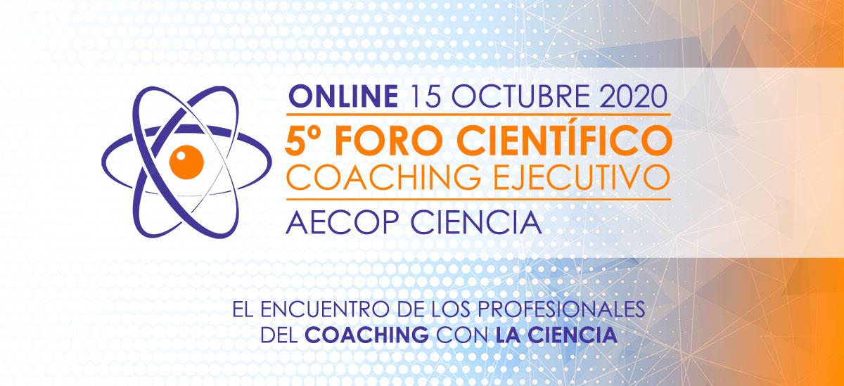 Participa en el 5º foro científico online de coaching ejecutivo aecop